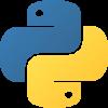 Logo von Python