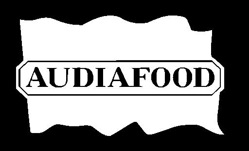 Logo der Audia Food GmbH in weiß