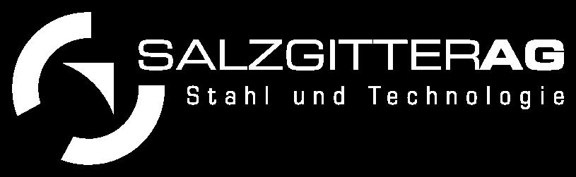 Salzgitter AG Logo in weiß